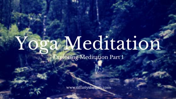 Yoga Meditation header