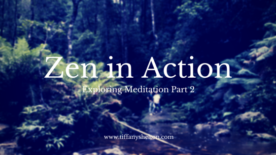 zen in action meditation header